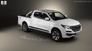 vauxhall colorado 360 view of holden colorado space cab ltz 2016 3d model hum3d store
