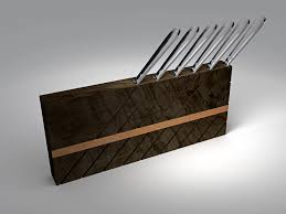 awesome japanese knife block things i want pinterest knives kitchen agreeable contemporary kitchen ideas with walnut chunk knife holder for minimalist and modern kitchen picture a part of awesome and innovative