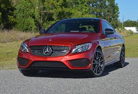 mercedes coupe review 2017 mercedes amg c43 4matic coupe review test drive