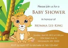 lion king baby shower supplies baby shower invitations lion theme badi deanj