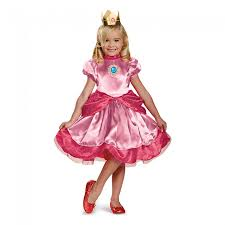 Bobby Light Halloween Costume Amazon Com Nintendo Super Mario Brothers Princess Peach Girls