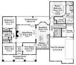 home plans homepw76422 2 454 square feet 4 bedroom 3 country style house plans 1800 square foot home 1 story 3