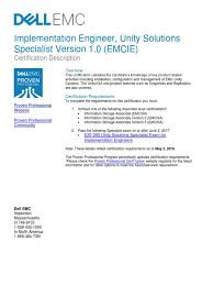 e20 393 unity solutions specialist exam for implementation