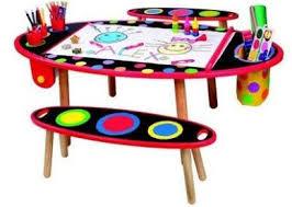 Drawing Desk Kids Kids Art Table Indesign Arts And Crafts Table Set Pinterest