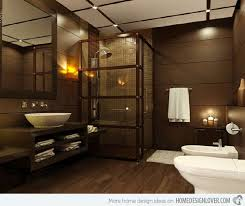 brown bathroom ideas 18 sophisticated brown magnificent brown bathroom designs home
