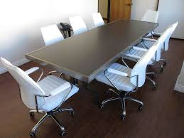 Detachable Conference Table Conference Table Welded Clear Coated Steel With Embedded Asian