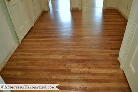 my diy refinished hardwood floors are finished