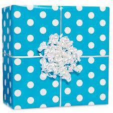 thick christmas wrapping paper amscan classic polka dot jumbo gift wrap orange 16