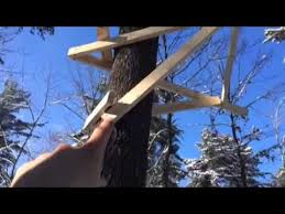 how to build a cheap tree stand