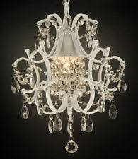 Iron Chandelier With Crystals Country Wrought Iron Chandeliers Ebay