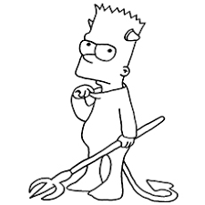 top 10 free printable simpsons coloring pages online