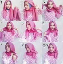 tutorial jilbab segi 4 untuk kebaya 30 model hijab segi empat masa kini 2018 fashion remaja 2018