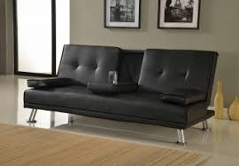 Black Leather Sofa Bed Faux Leather Sofabed Buy Quality Brown Faux Leather Sofabed