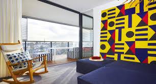interior neutral contemporary living space apartment design
