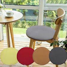 Outdoor Bistro Chair Pads Round Decorative Seat Pads Ebay