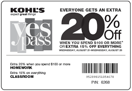 kohls 2017 printable coupons coupon codes
