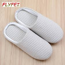 wholesale flyfei women and men bedroom slippers spring and autumn flyfei women and men bedroom slippers spring and autumn home anti slip slippers indoor cotton slippers