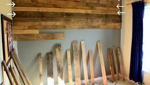 rivestimento in legno pareti rivestire una parete coi pallet 17 idee da copiare