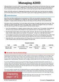 adhd worksheets 25 best therapy worksheets ideas on pinterest