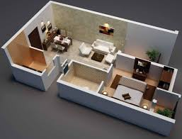 610 sq ft 2 bhk 1t apartment for sale in radiance realty mercury