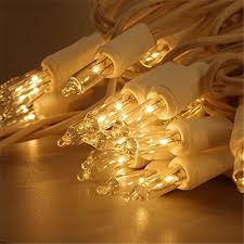 zitrades lights 100 count clear mini string lights