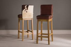 modern cowhide bar stools metal stools ideas kitchen dining