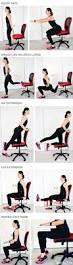 Office Chair Exercises 40 Quick Workouts You Can Do On Your Lunch Break The Goddess