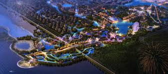 6 Flags Map About The Park Six Flags Zhejiang
