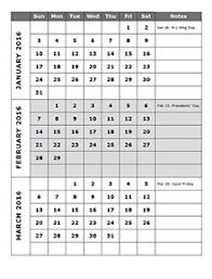 3 Month Calendar Template 2014 6 month calendar on one page pertamini co