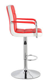Adjustable Bar Stools United Chair Height Adjustable Bar Stool With Metal Armrest Uoc
