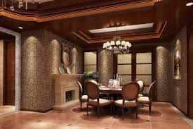 dining room comfortable black white house interior design with