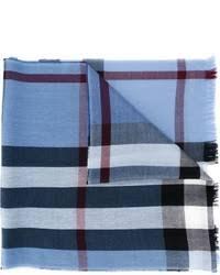 light blue burberry scarf men s light blue scarves by burberry men s fashion
