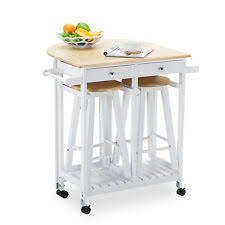 Kitchen Island Table With Stools Kitchen Island Table Ebay