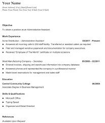 chronological resume template general chronological resume the resume template site the resume