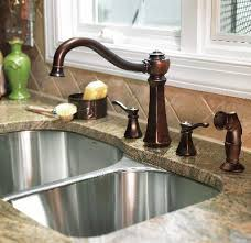 four kitchen faucet bronze kitchen faucets dosgildas com