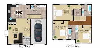 Detached Garage Floor Plans by Townhouse Floor Plans With Garage Schoolhouse Luxury Townhomes