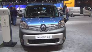 renault kangoo z e maxi 5 seats double cab 2017 exterior and
