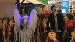 lowe u0027s halloween 2017 in store footage floating lady ghost