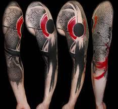 amazing trash polka tattoo sleeve idea best tattoo ideas gallery