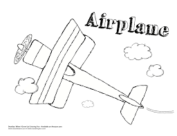 airplane coloring sheets delightful doodles coloring fun