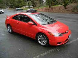 2008 honda civic coupe manual purchase used 2008 rallye honda civic si coupe 2 door 2 0l