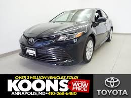 new toyota camry in annapolis md inventory photos videos