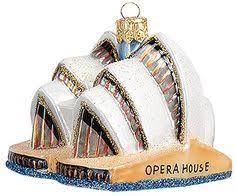sydney opera house australia blown glass