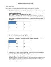 week 3 genetics assignment week 3 genetics assignment worksheet