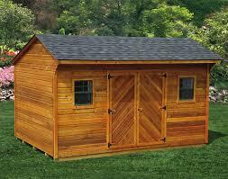 storage backyard barns materials and preparation for build