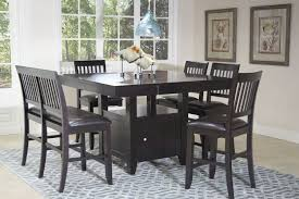 mor furniture dining table kaylee espresso dining room dining room mor furniture for less