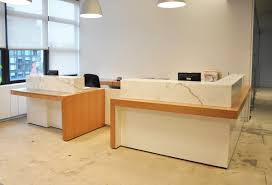 Oak Reception Desk Arnold Reception Desks Inc Custom Empire Switzer