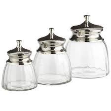clear glass canisters for kitchen 8 best canisters images on for the home glass
