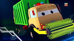 superheroes trucks car garage monster road rangers frank the garbage truck garbage truck song