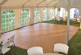 portable floor rental flooring pool covers cache tents events